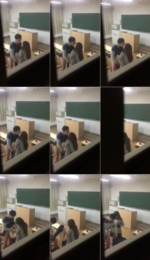 Sınıfta Seks Yapıyorlar!