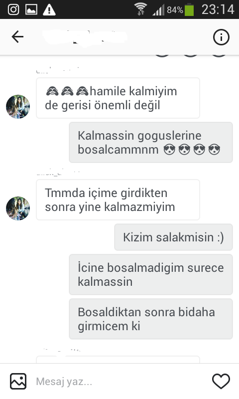 sexiting facebook türkçe